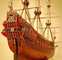 Vasa Model Ship