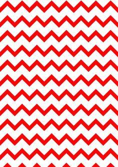 MeinLilaPark – DIY printables and downloads: Free digital red-white chevron scrapbooking paper - ausdruckbares Geschenkpapier - freebie