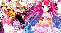 Itsuka Tenma no Kuro Usagi Me Me Me Anime, Anime Love, Sword Art Online, Online Art, Nogame No Life, Rosario Vampire, Just A Game, Movie Titles, Anime Characters