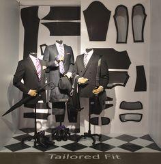 Tailored Fit. Redefining Design 2015. Visual Merchandising Arts, School of Fashion at Seneca College.