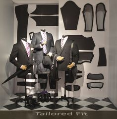 Tailored Fit. Redefining Design 2015. Visual Merchandising Arts, School of Fashion at Seneca College.