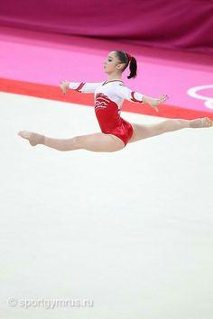 Sports Gymnastics Posters, Olympic Gymnastics, Gymnastics Girls, Gymnastics Leotards, Aliya Mustafina, London Olympic Games, Romanian Girls, Gymnastics Photography, Grace Beauty