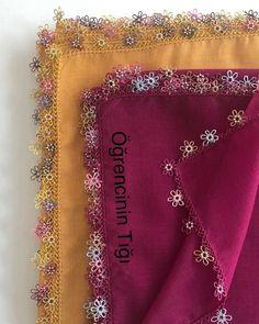 Çok Popüler Tığ İşi Oya Modelleri Baby Knitting Patterns, Alexander Mcqueen Scarf, Fashion, Moda, Fashion Styles, Fashion Illustrations