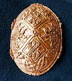 Viking woman's brooch