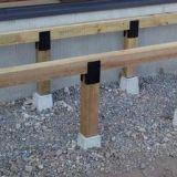 115. ウッドデッキの理想的な構造 - 木・うんちく
