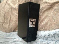 Black lacquer decorative box, Homegoods