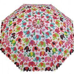 Detský vystrelovací dáždnik s píšťalkou