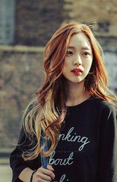 Park Seul Bora Lim, Ulzzang Girl, Korean Ulzzang, Cute Hairstyles, Korean Hairstyles, Korean Model, Hair Goals, Asian Beauty, Your Hair