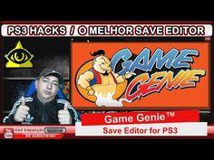 GAME GENIE SAVE EDITOR PARA PS3 TRAVADA E DESTRAVADA