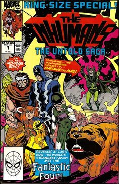 inhumans comic | Inhumans Special 1 A, Apr 1990 Comic Book by Marvel