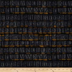 Tim Holtz Eclectic Elements Stamps Blue from @fabricdotcom  Designed by Tim Holtz, this cotton print fabric is perfect for quilting, apparel, crafts, and home decor items. Colors include brown, black and purple on blue.