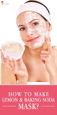 But then, there is one face mask that is chemical-free and has no chemicals as well. It is the homemade lemon baking soda mask we are talking ...