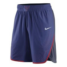Team USA Basketball Nike Rio Elite Replica Shorts - Royal