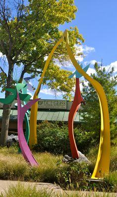 Park Forest, 2013 sculpture (Now)