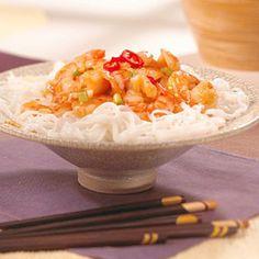 Easy Szechwan Shrimp