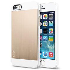 SPIGEN SGP SGP10570 Case Saturn for #iPhone 5S/S  Champagne Gold Review