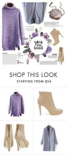 """""""You are loved."""" by purpleagony on Polyvore featuring sweaterdress, happynewyear and yoins"""