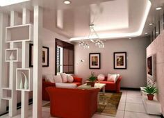 we invite you to watch our beautiful 2018 photo gallery of modern partition wall designs and ideas( plasterboard partition walls, glass room partition walls, room divider curtains, wooden partition design ideas Room Partition Wall, Living Room Partition Design, Living Room Divider, Room Partition Designs, Interior Design Living Room, Living Room Designs, Partition Ideas, Modern Interior, Glass Partition