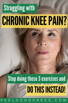 """Learn how to ease knee discomfort with the 5 minute daily """"soothing exercise ritual"""" Knee Arthritis Exercises, Knee Strengthening Exercises, Arthritis Remedies, Arthritis Treatment, Swollen Knee, Knee Swelling, Knee Osteoarthritis, Bursitis Hip, How To Strengthen Knees"""
