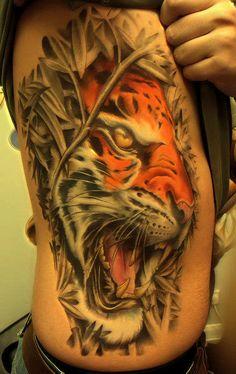 #tattoos #tiger