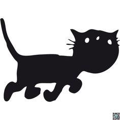 Siep Sticker 1 (Jip en Janneke) - Cartoons - Stickers Crazy Cat Lady, Crazy Cats, Black N White Images, Cat Drawing, Held, Cat Art, Silhouette Cameo, Schmidt, Moose Art