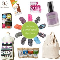 Enter to win this Summer Festivals Prize Package from AbesMarket.com