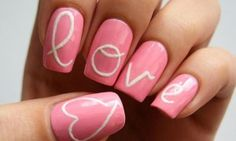 Heart Nail Art Designs And Ideas