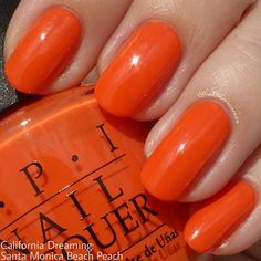 OPI: Santa Monica Beach Peach from the new California Dreaming summer collection.