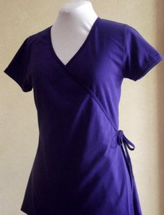 Very flattering wrap top perfect length to wear by ClothingbyLahay