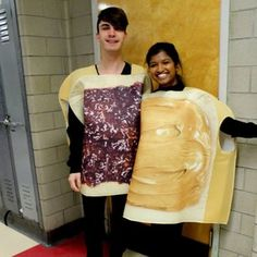 Peanut Butter and Jelly   41 Two-Person Costumes That Will Up Your Halloween Game