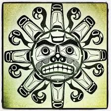 Image result for traditional native american art sun