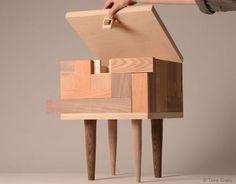 寄木細工なスツール