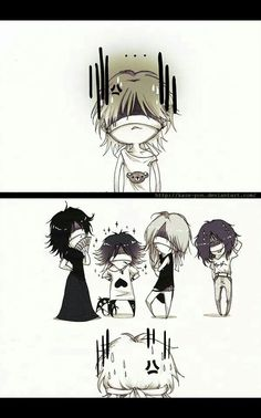 The GazettE chibi....the Reita gang!