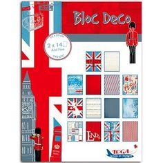 Bloc Deco - Londres - 15 x 20 cm