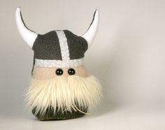 Mini Viking Plush by Saint Angel, via Flickr