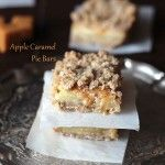 Apple Caramel Pie Bars | leelalicious.com