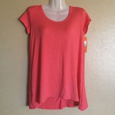 PJ TOP Ladies sleepwear Coral top(must purchase 2 listings to get item priced $3 ) regular price for single item is $4 Gilligan & O'Malley Intimates & Sleepwear Pajamas