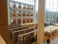 Malmö library, Sweden.