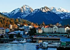 The town of Sitka #Alaska