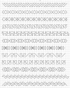 23 ideas drawing doodles student for 2019 23 ideas drawing doodles student for 2019 Motifs Blackwork, Blackwork Embroidery, Cross Stitch Embroidery, Graph Paper Drawings, Graph Paper Art, Bullet Journal Ideas Pages, Bullet Journal Inspiration, Bullet Journals, Cool Doodles