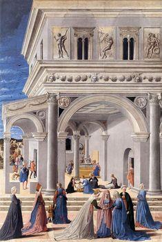Leon Battista Alberti - Natività della Vergine (1467)