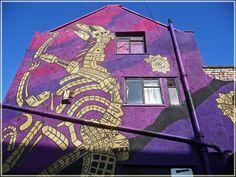 Purple house, Stokes Croft, Bristol