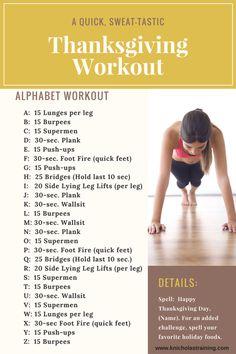 Quick Thanksgiving Bodyweight Workout — Karen Nicholas Training