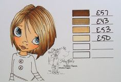 Hair Color 71 - Copic Markers...