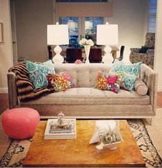 Image result for what color pillows with beige sofa