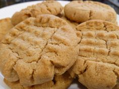 Almond Butter Cookies I'll make them with a sugar replacement
