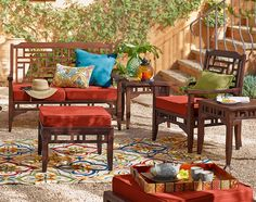 Carved from solid mahogany, our Bandengan Collection's Asian influence is undeniable.
