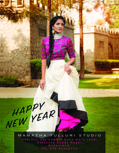 Happy NewYear Fashion Fanatics!!! 2015 was super amazing! We love to express our heartfelt thanks for the customer and fan base for tremendous support through out the year. Welcome 2016 with a whole lot of #design excitement:)