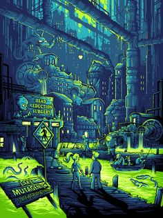 Futurama by Dan Mumford