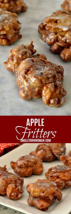 Frugal Food Items - How To Prepare Dinner And Luxuriate In Delightful Meals Without Having Shelling Out A Fortune Apple Donuts Apple Pastries Breakfast Sweets Donuts Fritters Apple Recipes Small Town Woman Donut Recipes, Apple Recipes, Brunch Recipes, Sweet Recipes, Breakfast Recipes, Dessert Recipes, Cooking Recipes, Aloo Recipes, Apple Breakfast
